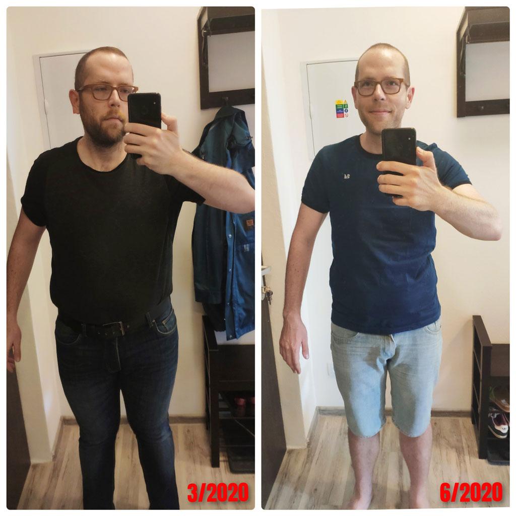 Pohlad do zrkadla po schudnuti 20 kg